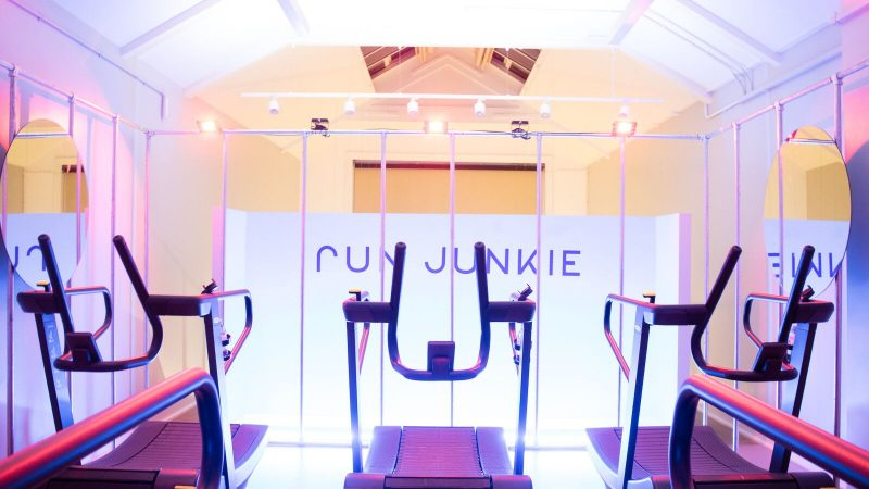 RUN JUNKIE: the EPIC class experience that will convert non-runners in a singlesession!